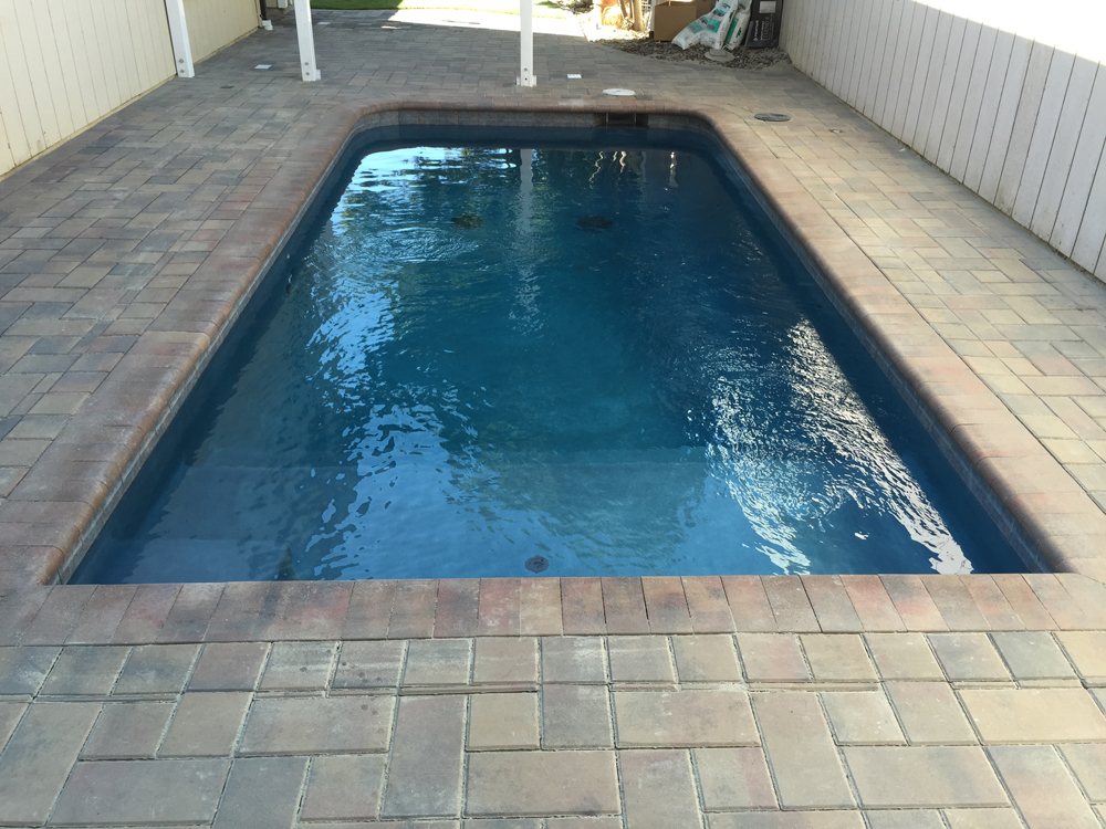 Paver Patio, Paver Pool Deck & Pool Coping, Artificial Grass ...